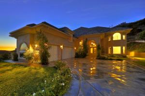 Luxury Home At Twilight